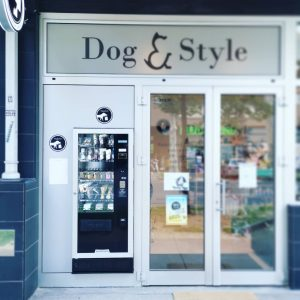 First vending machine for pets in Croatia Dog & Style