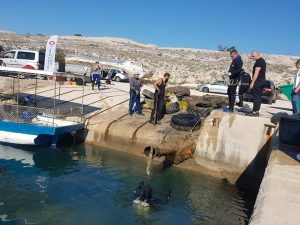 five tonnes of marine debris was collected on Croatian coast
