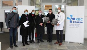 ACAP Zagreb, delivered the latest donation of medical equipment to earthquake-damaged hospitals in Zagreb,