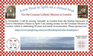 Croatian Catholic Mission London rowing Frankopan