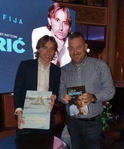 Autor Igor Goleš with Luka Modrić