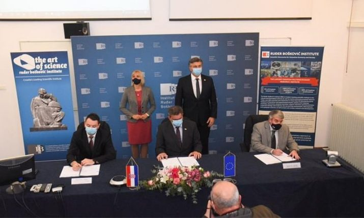 Croatian Ruđer Bošković Institute inks €70 million scientific infrastructure and procurement contract