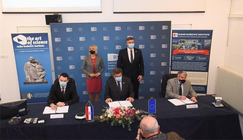 Croatian Ruđer Bošković Institute inks €70 million scientific infrastructure and procurement contract