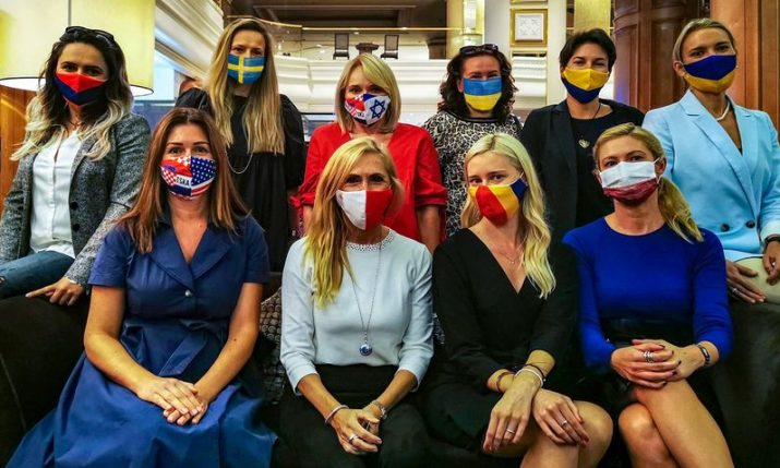 International Women's Club Zagreb Christmas Bazaar raffle raising money for University Hospital of Infectious Diseases