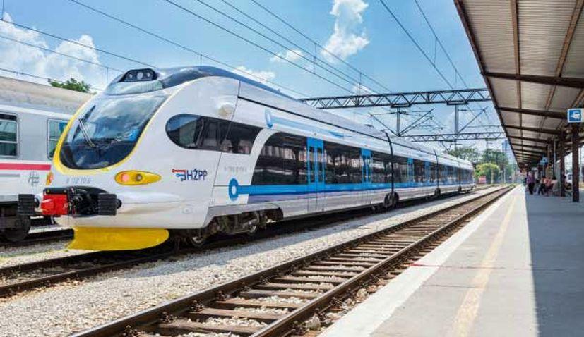Croatia rail electric trains