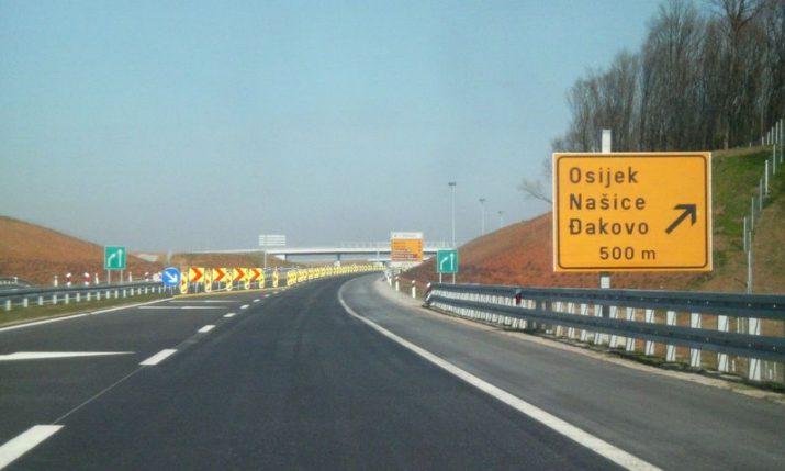 Osijek-Beli Manastir motorway to be inaugurated by summer 2022
