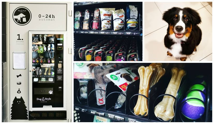 First vending machine for pets in Croatia placed in Zagreb