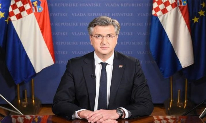 Croatian prime minister tests positive for coronavirus