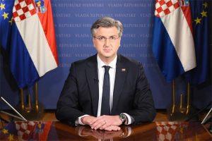 PM croatia adresses nation covid restrictions