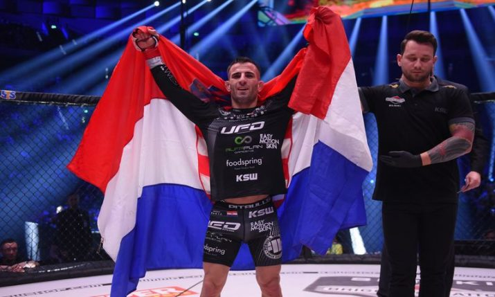 MMA: Croatia's Antun Račić to defend his title at KSW 59