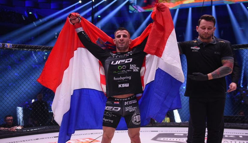 Croatia's Antun Racic to defend title at KSW 57