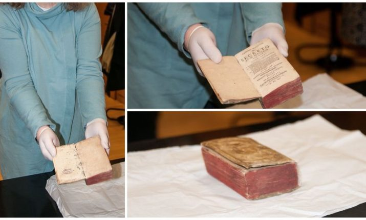 Rare 400-year-old book stolen is returned to Croatia's national library