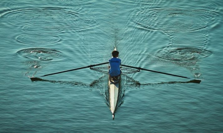 Rowing from Trsat to Spilt on a virtual boat to raise funds for Croatian Catholic Mission in London