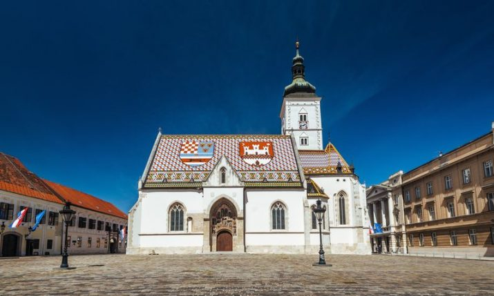 St Mark's Square in Zagreb designated a guarded area