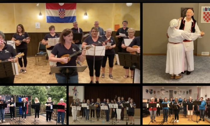 VIDEO: US and Canadian Croatian tamburitza orchestras come together for virtual performance