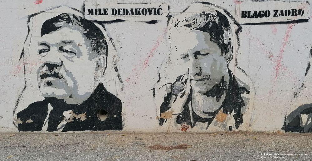 Vukovar street split to vukovar