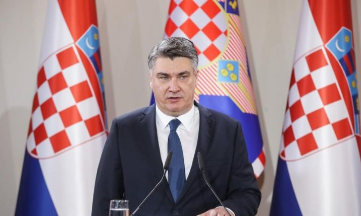 Croatian president says we all should get vaccinated
