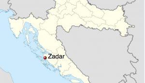 Zadar earthquake croatia