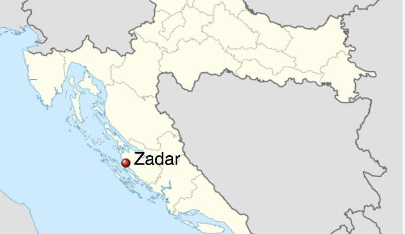 Zadar earthquake croatia