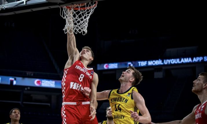 Basketball: Croatia qualifies for EuroBasket