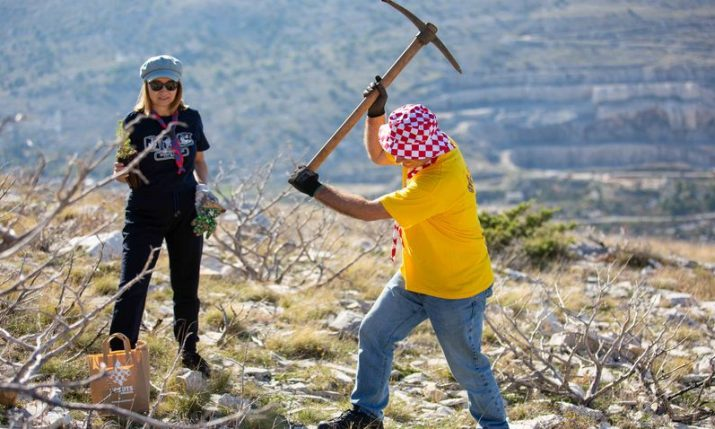 VIDEO: Split scouts celebrate 100th birthday with tree planting in Dalmatia