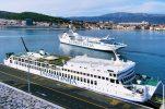 Croatian seaports see decrease in passengers but increase in volume of goods handled