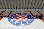 Hajduk Split constructing camp at Divulje