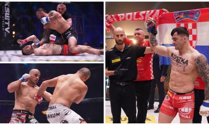 KSW 56: Roberto Soldic dominates & Filip Pejic scores one of fastest ever KOs