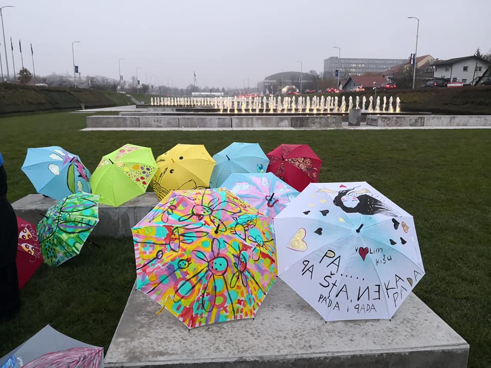 Lions Umbrellas of Unity, Umbrellas of Kindness humanitarian campaign presented