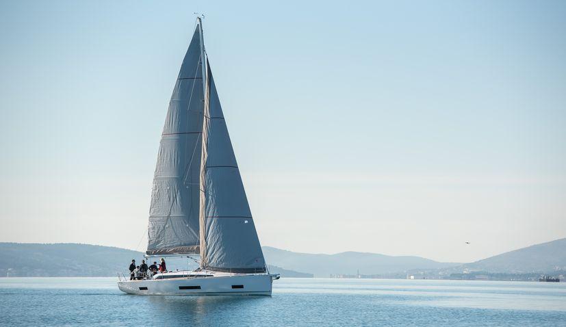 Salona shipyard Salona 46 electric sail boat