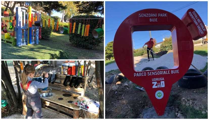 PHOTOS: First sensory park in Istria opens in Buje