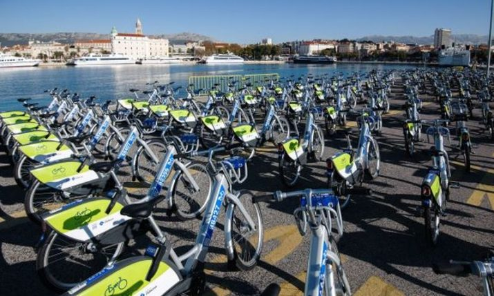 Split gets 194 new bikes for city bike-sharing system