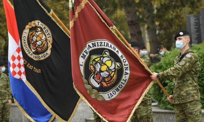 "Croatia's 1st Guard Brigade ""Tigers"" marks 30th anniversary"