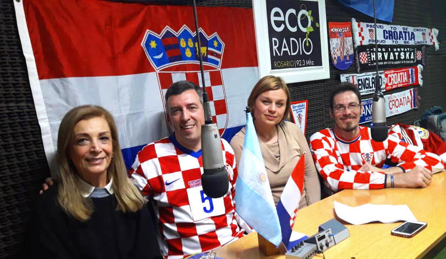 Croatian radio show Bar Croata in Argentina celebrates 15 years