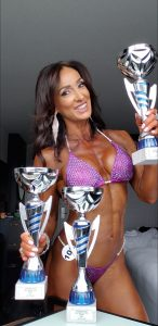 Meri Abbado Croatian bodybuilder