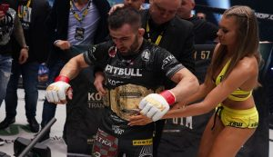 Antun Racic Retains KSW Bantamweight Title