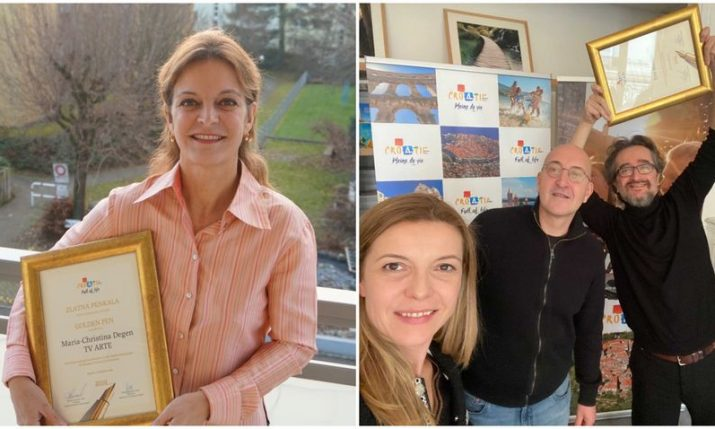 Croatian National Tourist Board awards foreign journalists