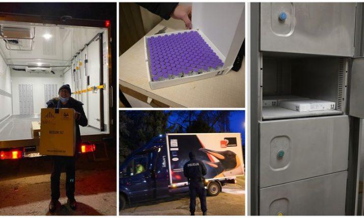 First doses of coronavirus vaccine arrive in Croatia