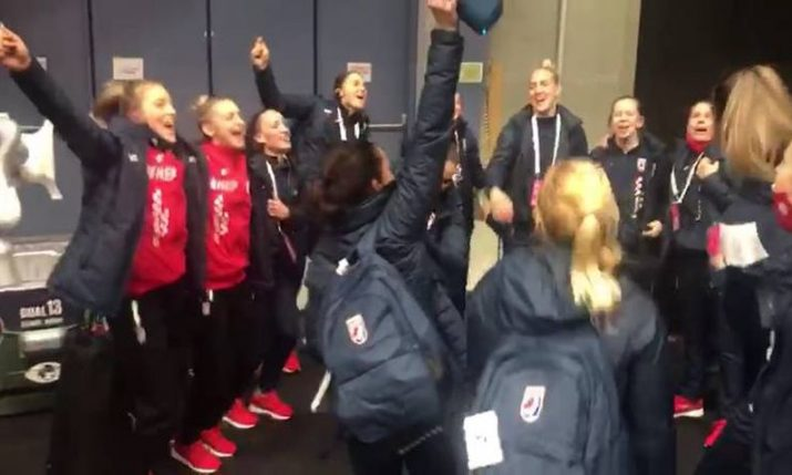 VIDEO: Big celebrations as Croatia beats world champs at women's Handball EURO