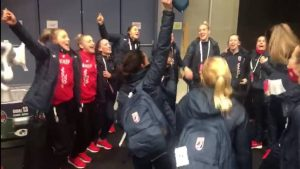 Croatia handball girls beat Netherlands at euro