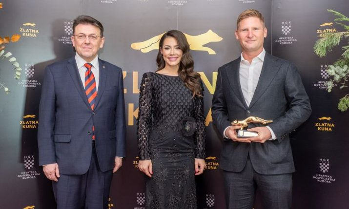Croatian Chamber of Economy presents 'Zlatna Kuna' awards to best companies