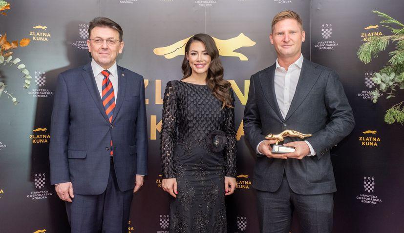 Croatian Chamber of Economy presents 'Zlatna Kuna' awards to best companies
