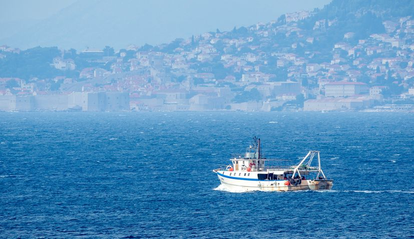 Croatian exclusive economic zone in the Adriatic Sea
