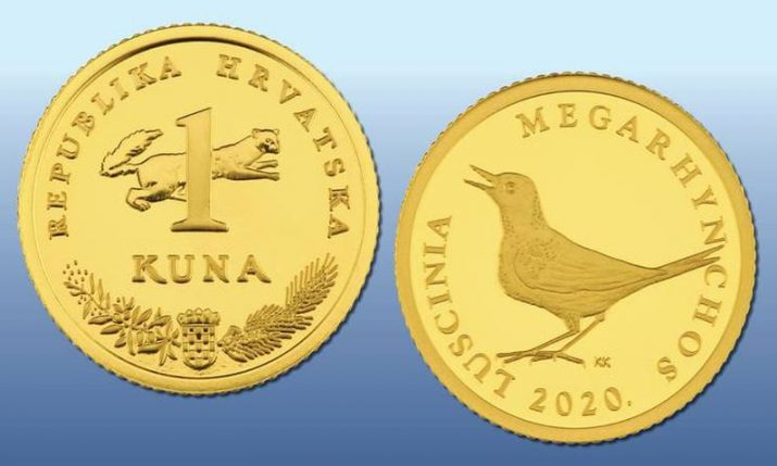 Special gold Croatian kuna coin issued