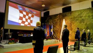 President, defence minister attend Croatian Army cadets' promotion