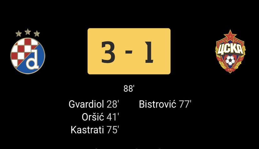 Dinamo Zagreb record europe croatia