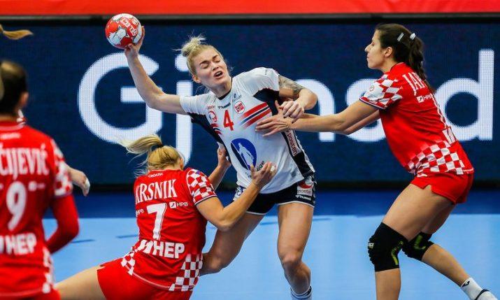 2020 Women's Handball Euro: Semifinals still in sight for Croatia despite first loss to Norway