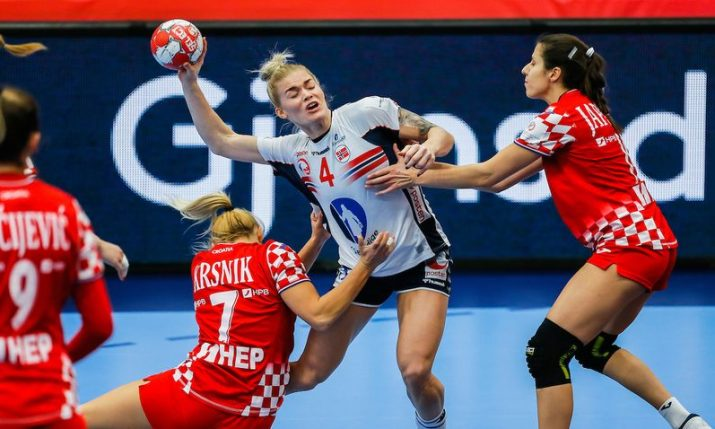2020 Women's Handball Euro: Semifinals still in sight for Croatia despite first loss to Norway