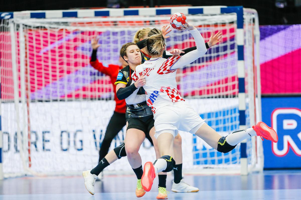 Croatia vs Germany euro 2020 handball
