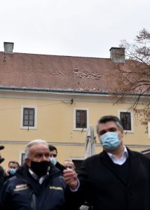 PM, Parliament Speaker, President tour Petrinja after earthquakes